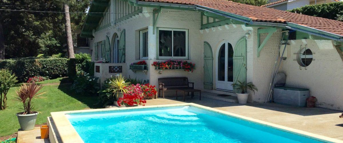 Villa quartier de l'Hermitage, Pyla sur Mer